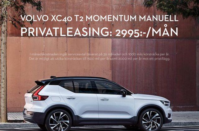 VOLVO XC40 PRIVATLEASING